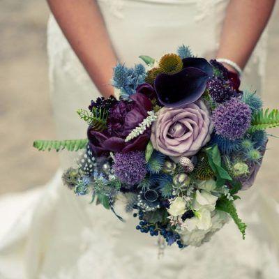 Ultra Violet para tu Boda: Violeta + Violeta para tu gran día